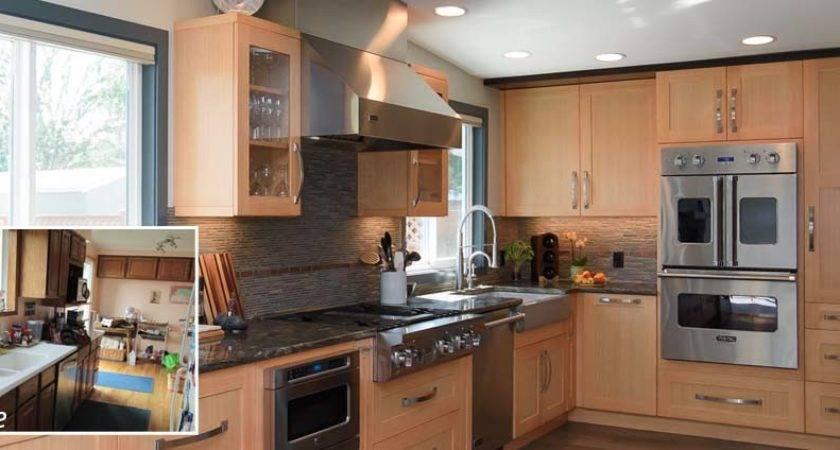 Newport Hills Tri Level Kitchen