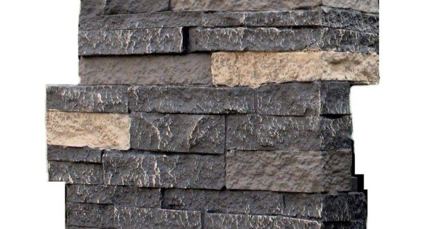 Nextstone Stacked Stone Bedford Charcoal