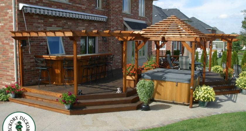Nice Backyard Decks Outdoor Furniture Design Ideas
