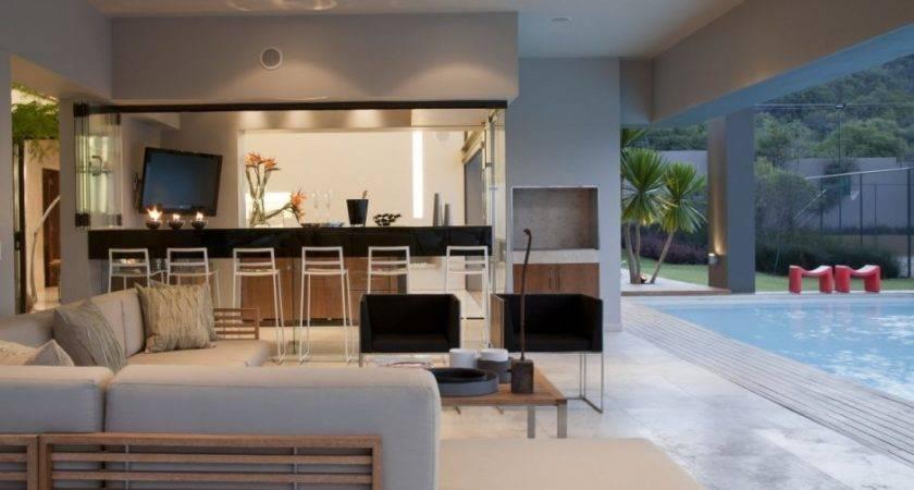 Nice House Inside Den Pool Interior