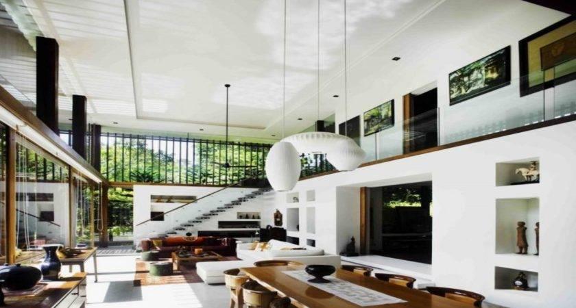 Nice House Inside Houses Big Living Room
