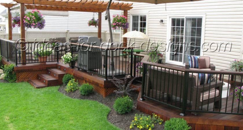 Nice Ideas Deck Designs Backyard Idea Patio