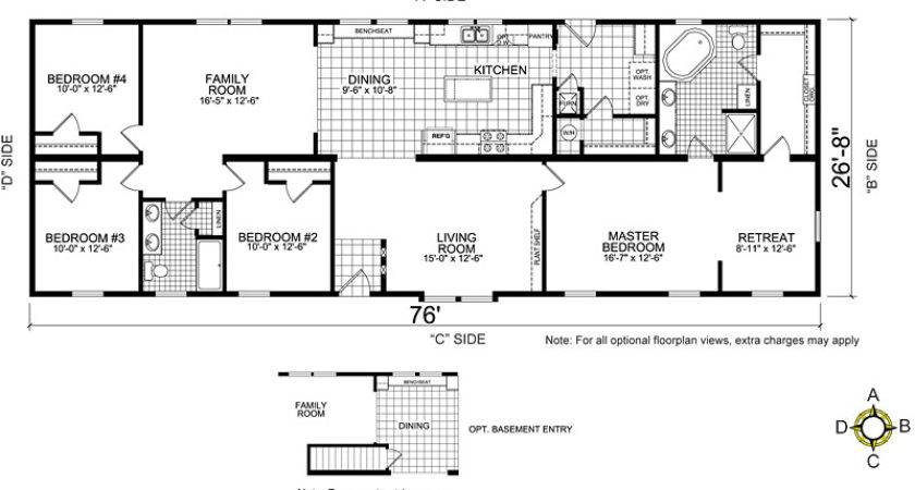 Nice Mobile Homes Plans Home Floor
