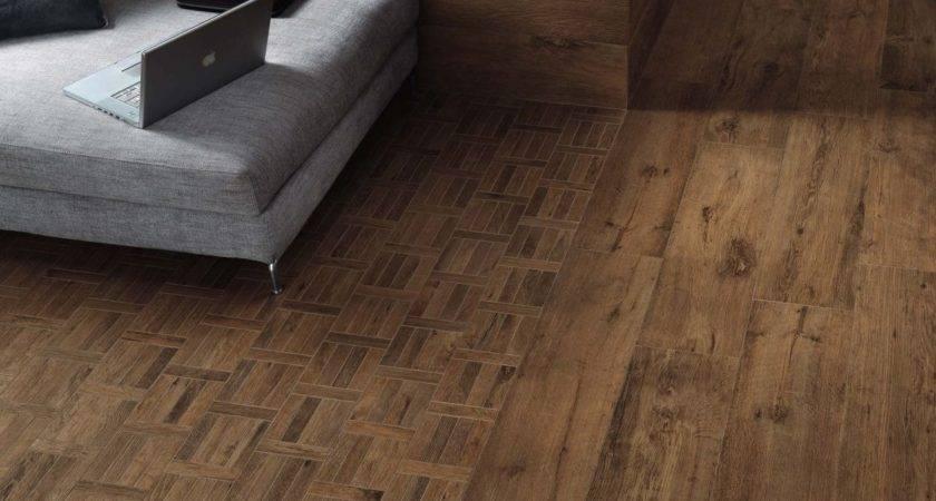 Nice Tile Looks Like Wood Larix Chic