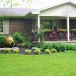 Niesz Vintage Home Fabric Porch Railing Planter Boxes