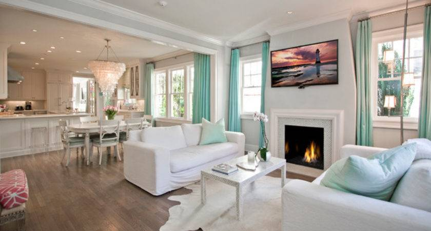 North Palm Beach Style Living Room