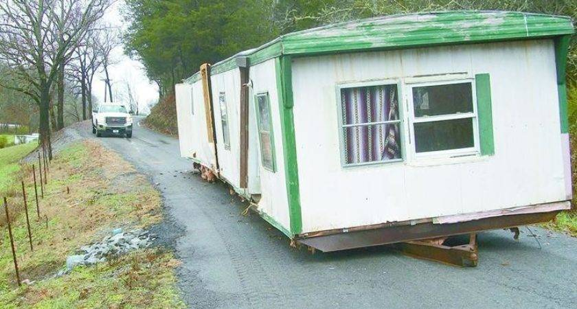 Not Mobile Home Blocks Roadway Days