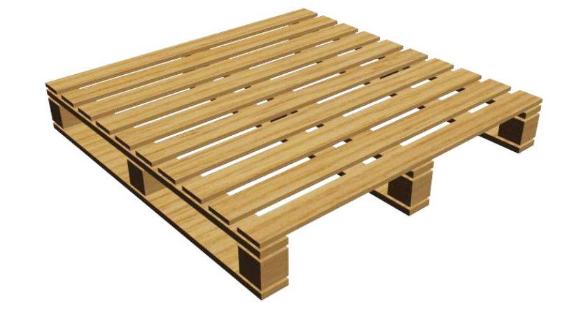Notched Way Pallet Ashborn Industries Wooden