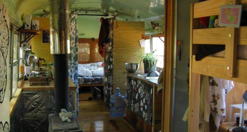 Novelty Unschool Bus Tiny House Swoon