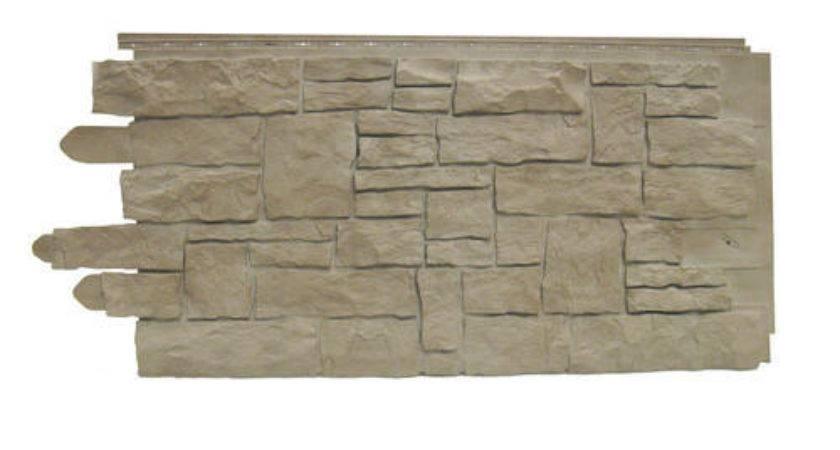 Novistone Vinyl Stacked Stone Panel Menards