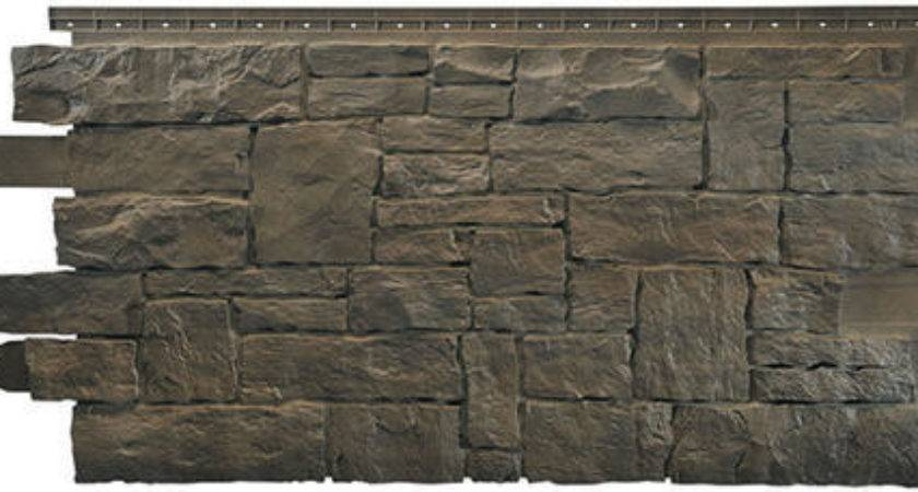Novistone Vinyl Stacked Stone Panel Menards