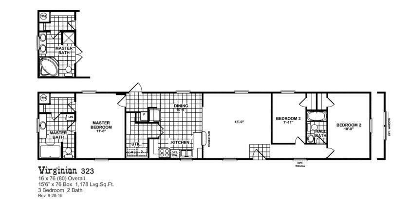 Oak Creek Mobile Homes Floor Plans