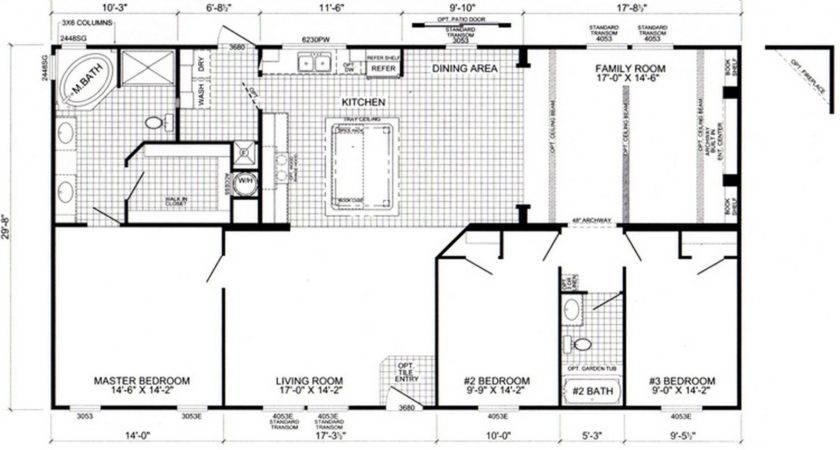 Oak Home Floor Plan Creek Plans