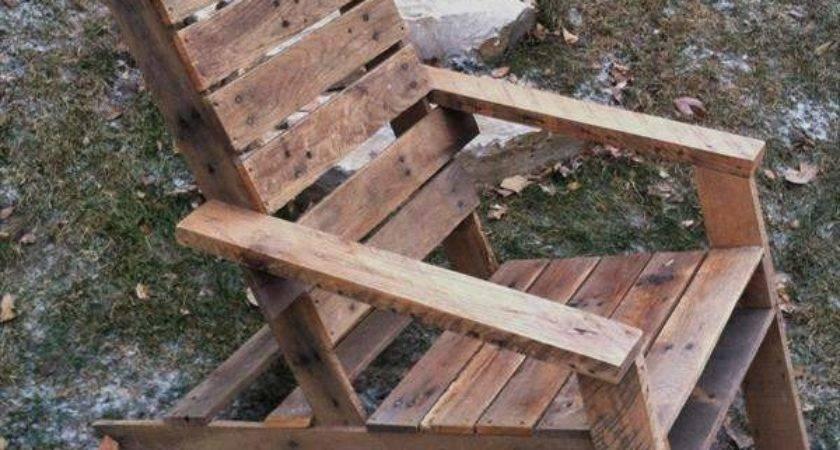 Oak Pallet Adirondack Chair Furniture Plans