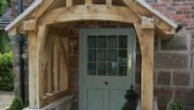 Oak Porch Doorway Wooden Canopy Entrance Self