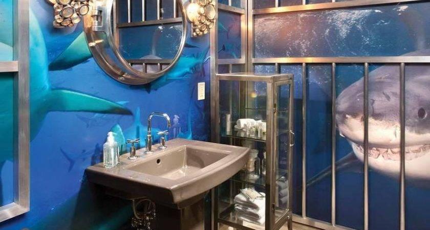 Ocean Bathroom Decor Related Post Under Sea