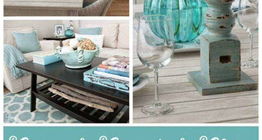 Ocean Blue Graphics Beach Themed Kitchens