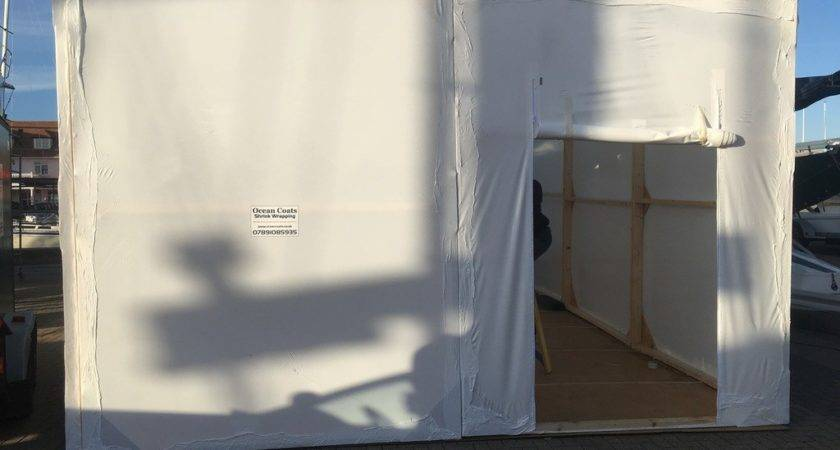 Ocean Coats Marine Services Mobile Tent