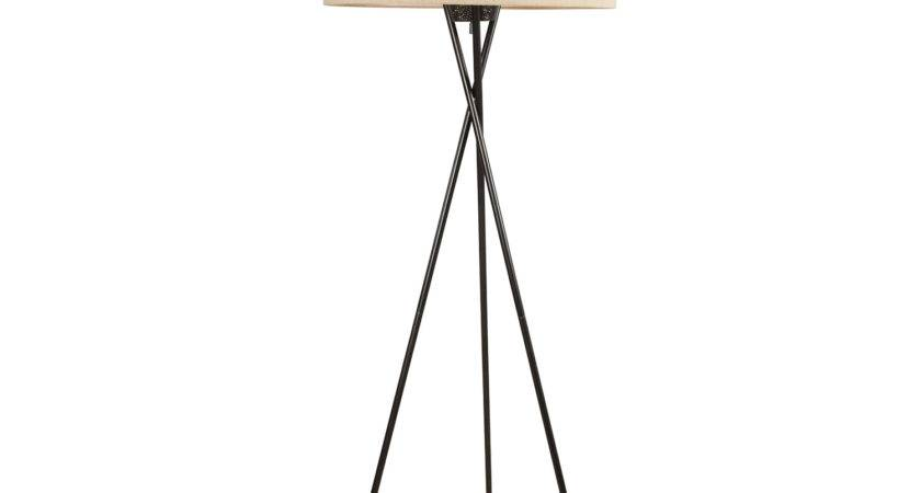 Off Pottery Barn Tripod Standing Lamp