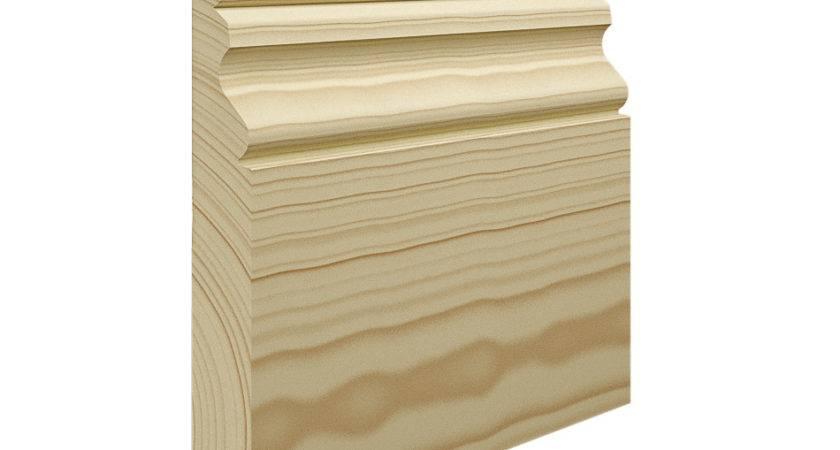 Ogee Pine Skirting Board World