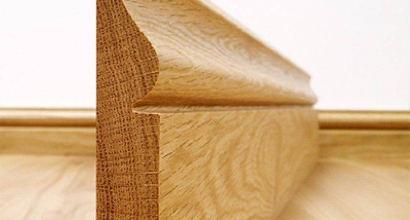 Ogee Solid European Oak Skirting Board Quick Delivery