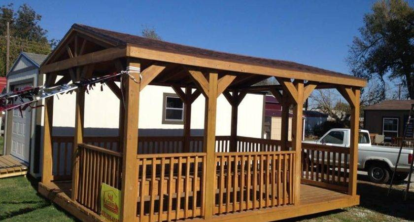 Okc Portable Buildings Pavilions Decks