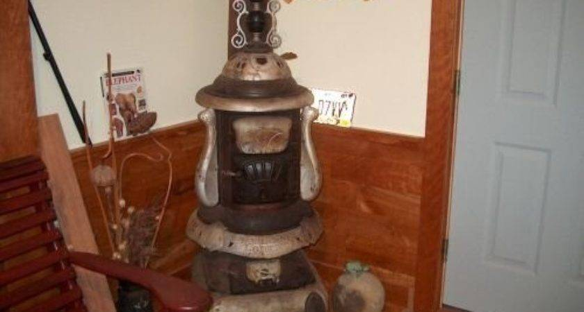 Old Antique Florence Hot Blast Parlor Wood Coal Stove