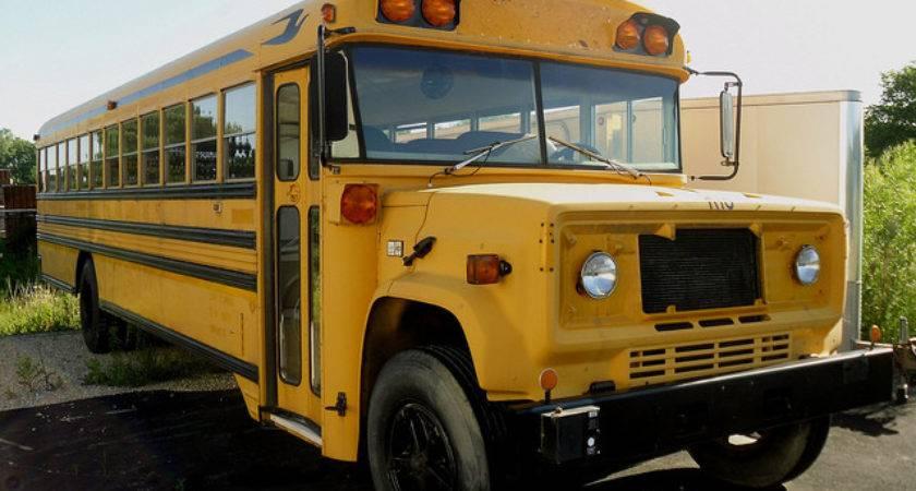Old School Bus Flickr Sharing