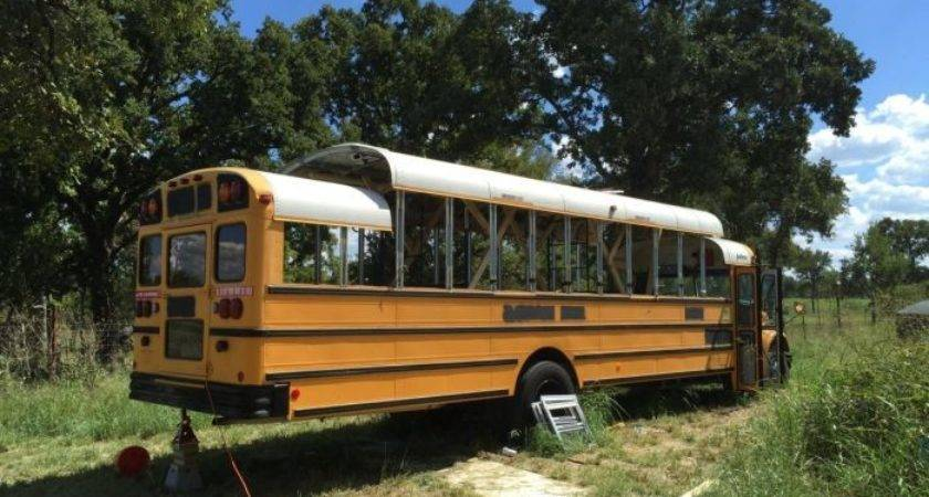 Old School Bus Gets Turned Into House Wheels Vehicles