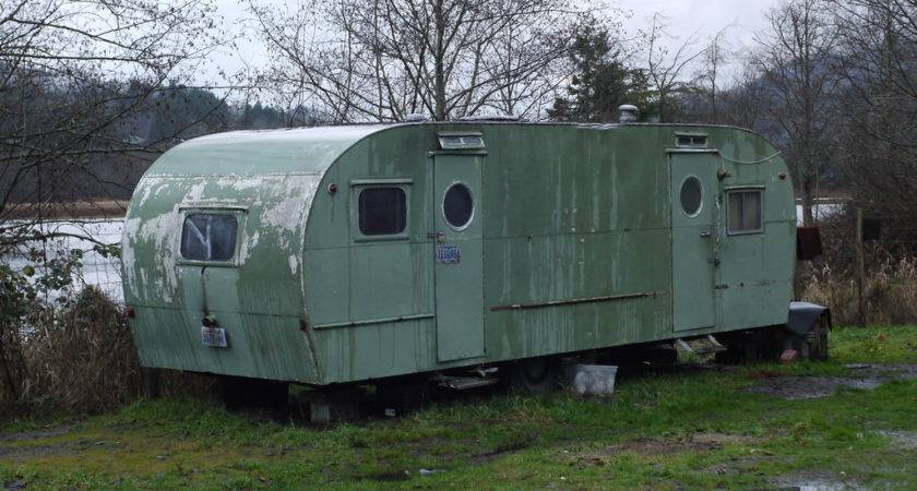 Old Trailer Home Kknox Flickr