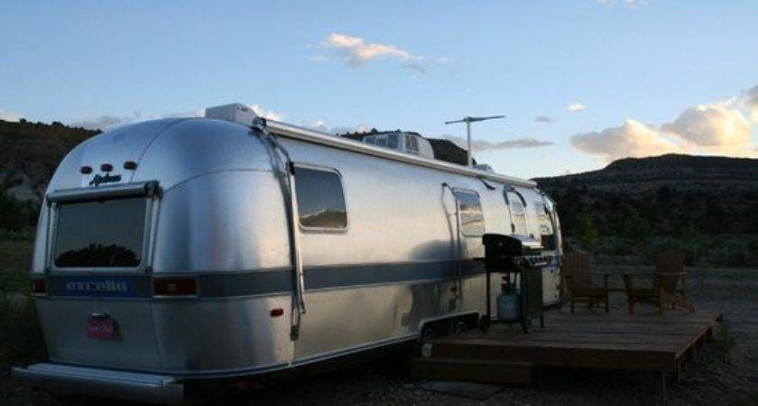 One Airstream Trailers They Rent Bbq Chairs