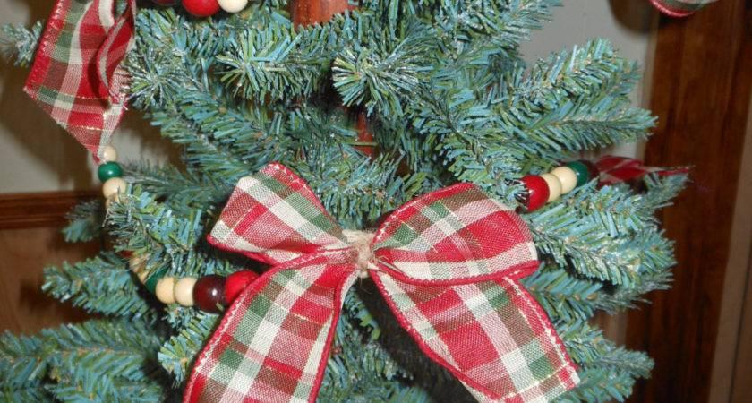 Ooak Christmas Garland Country Handmade