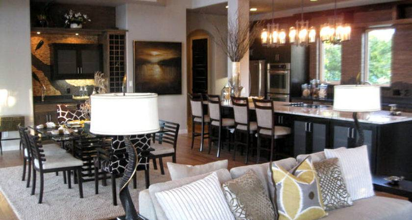 Open Concept Kitchen Living Room Cor Modernize