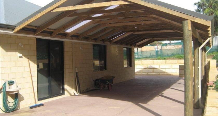 Open End Gable Porch Roof