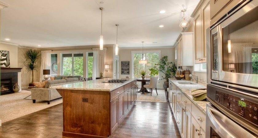 Open Floor Plans Kitchen Traditional Soundbuilt Homes