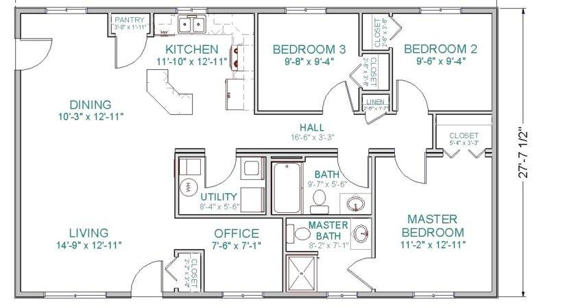 Open Great Room Floor Plans Small