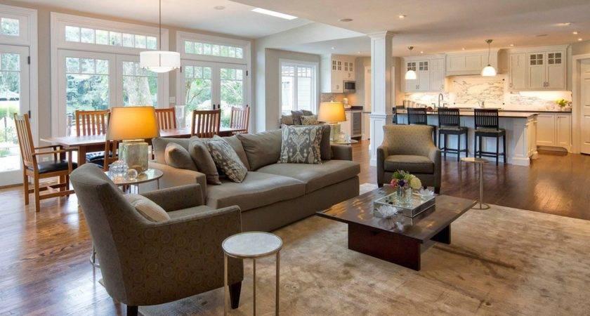 Open Plan Kitchen Living Room Ideas Dgmagnets