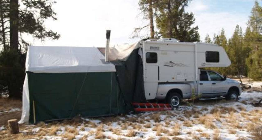Open Roads Forum Truck Campers Rear Awning Screen