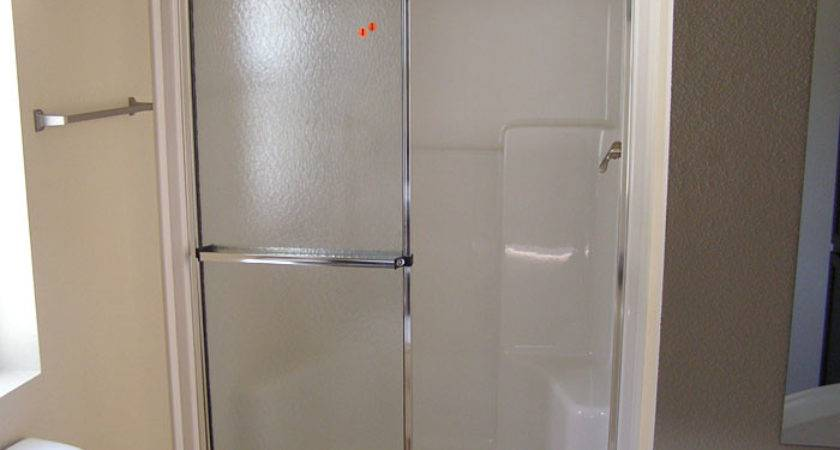 Optional Walk Shower Glass Doors Mobile Homes Club