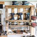 Organize Your Tools Enhanced Pallet Shelffunky Junk