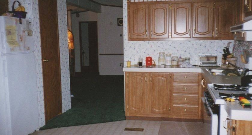 Original Mobile Home Kitchen Makeover
