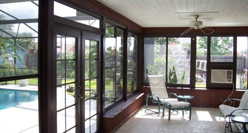Orlando Sunroom Acrylic Window Enclosure Prager Builders