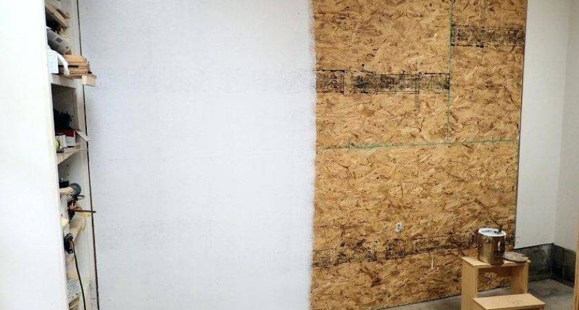 Osb Garage Walls May Code Says Have Cover Paper