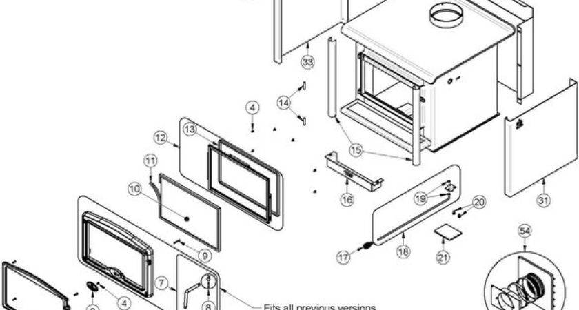 Osburn Wood Stove Parts