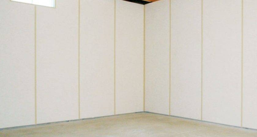 Our Basement Wall Products White Vinyl Panels