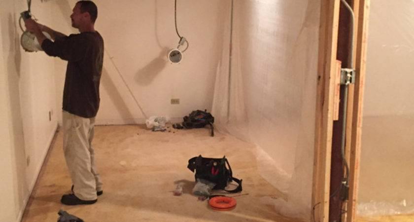 Our Broken Basement Luxury Vinyl Flooring House
