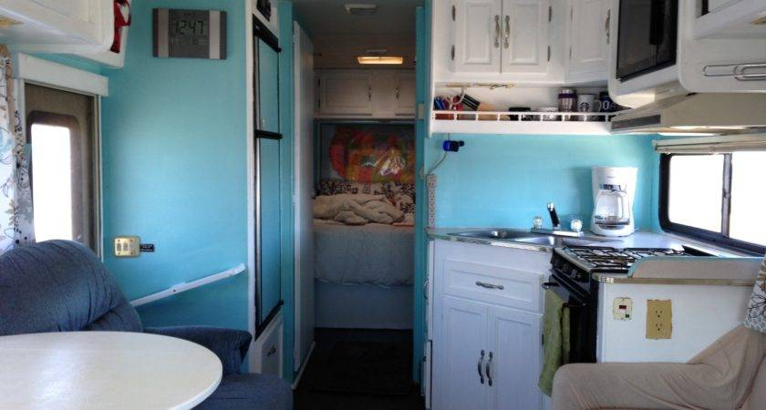 Our Class Motorhome Renovation Heath Alyssa