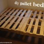 Our Diy Pallet Bed Santiagodiy