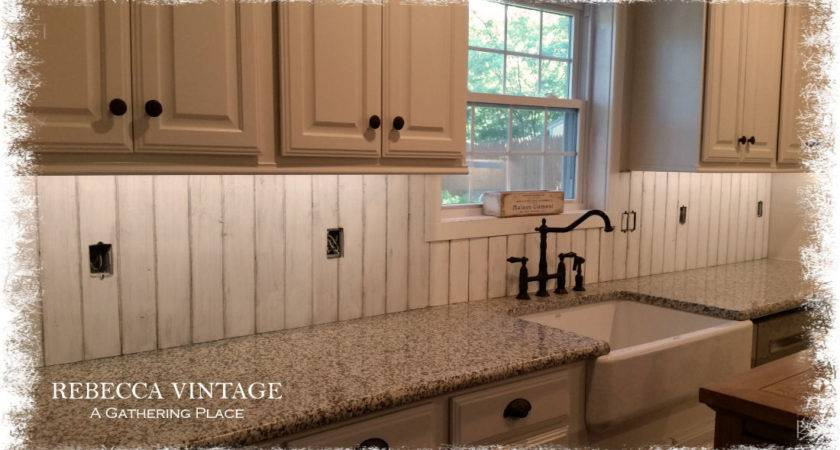 Our French Farmhouse Back Splash