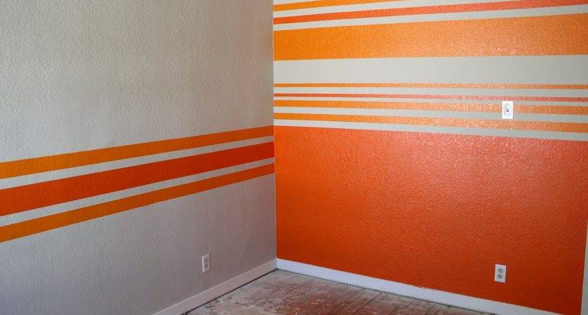 Our Slo House Big Reveal Striped Walls